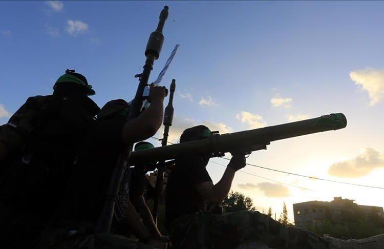 Brigade Izzuddin Al-Qassam, Sayap Hamas. (Foto file - Anadolu Agency)