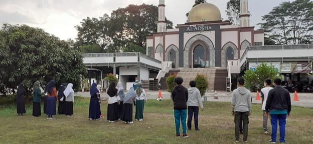 LAZ Al-Aqsha Adakan Pelatihan Kepemimpinan Untuk Penerima Aqsha Scholarship